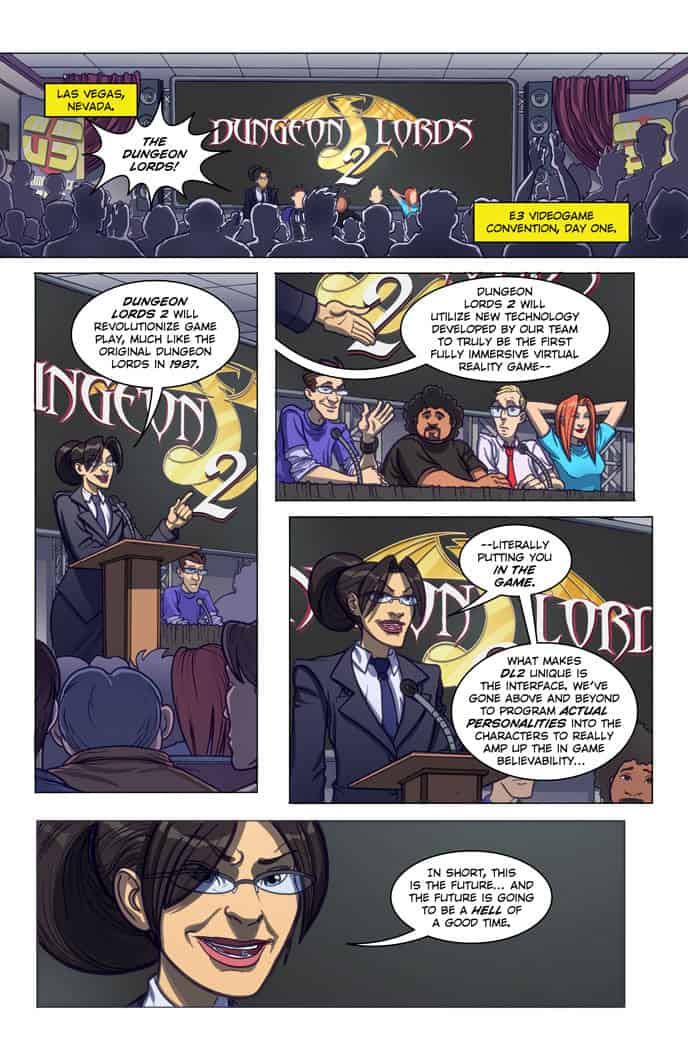 Double Jumpers Vol. 1 preview page 4