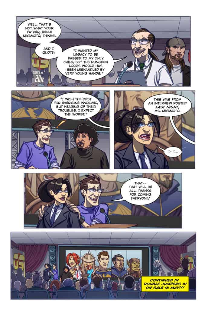 Double Jumpers Vol. 1 preview page 6