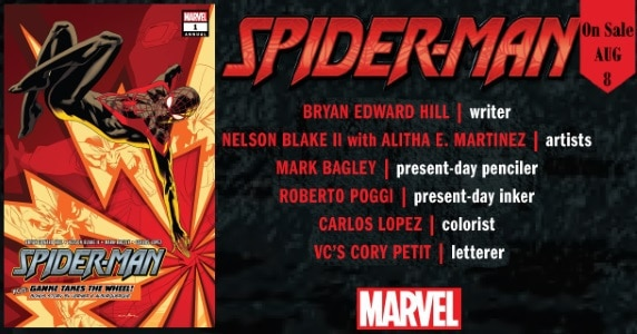 Spider-Man Annual #1 preview feature