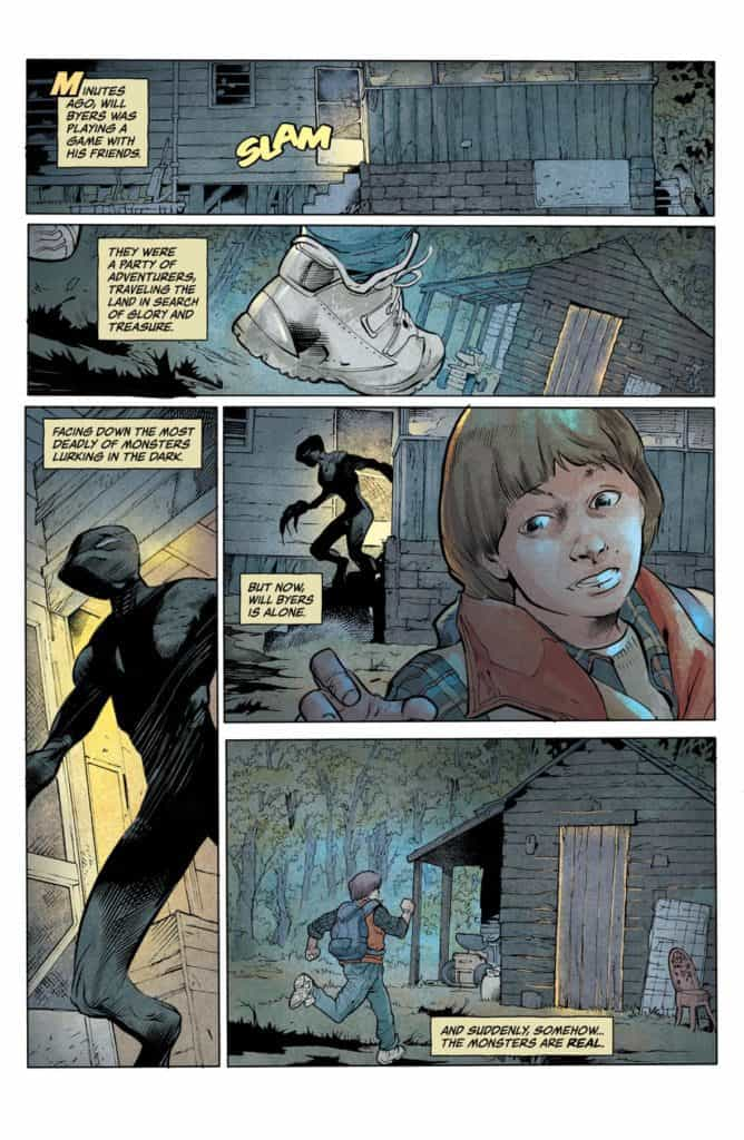 Stranger Things #1 - preview page 1