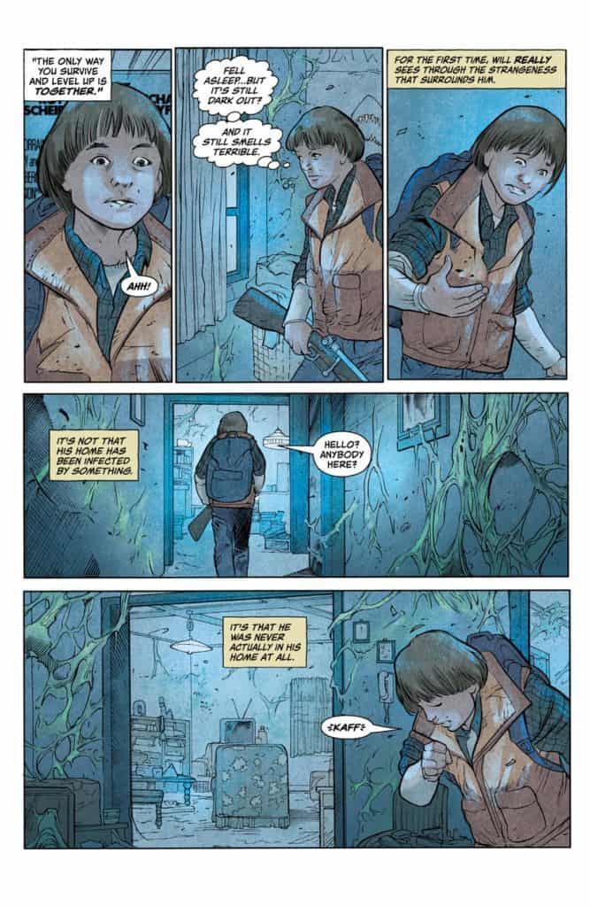 Stranger Things #1 - preview page 10