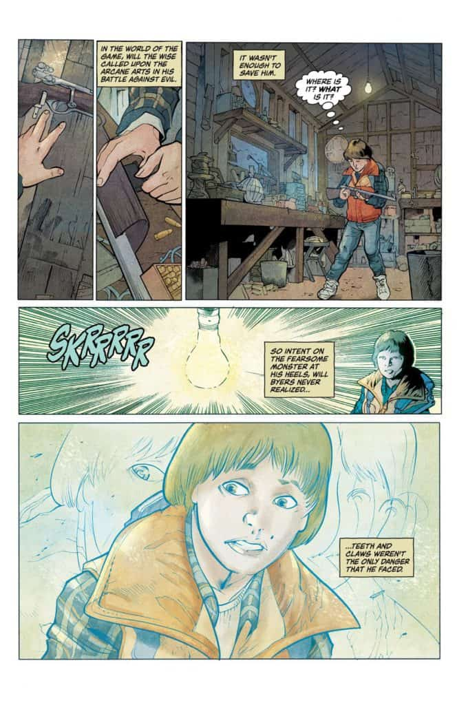 Stranger Things #1 - preview page 2