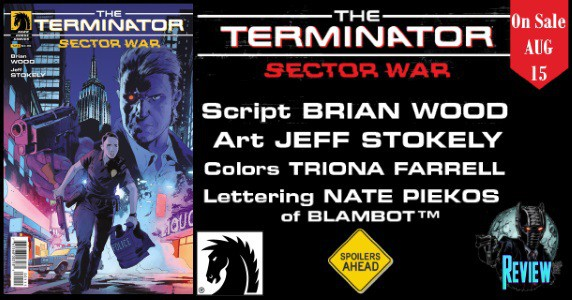 Terminator Sector War #1 review feature