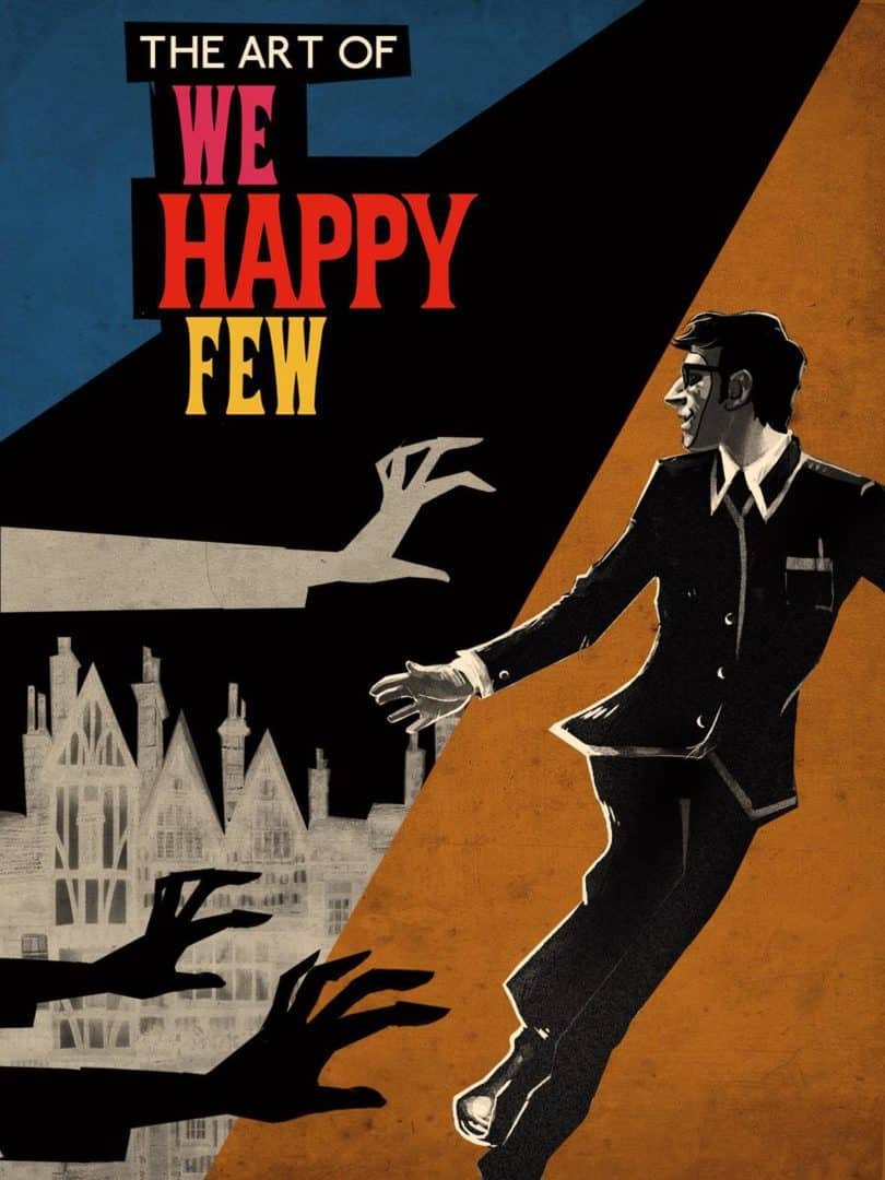 The Art of We Happy Few HC cover