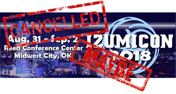 izumicon cancelled