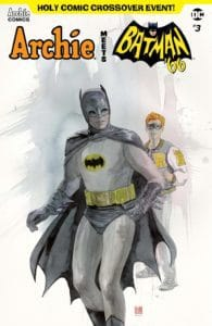 ARCHIE MEETS BATMAN '66 #3 - Variant Cover by David Mack