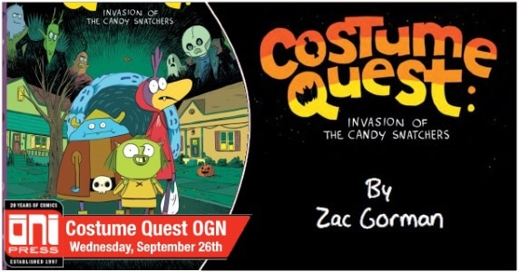 Costume Quest OGN preview feature