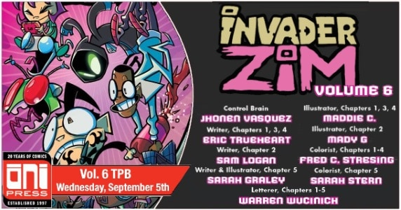Invader ZIM – Vol. 6 TPB preview feature