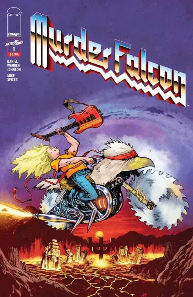 "MURDER FALCON #1 Cover B ""Heavy Metal"" variant"