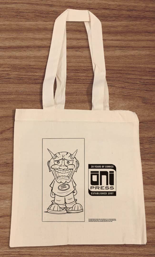 Oni Press tote bag 2