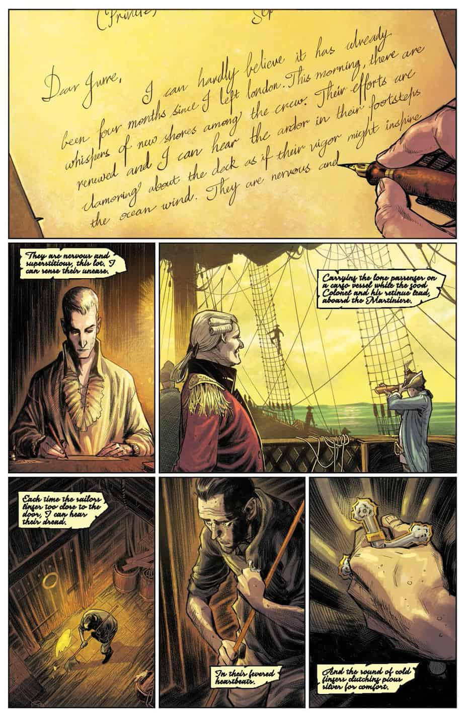 These Savage Shores #1 preview page 3