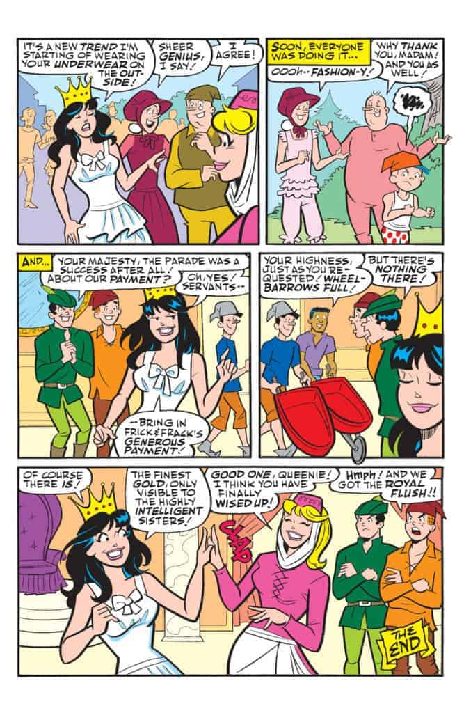 Betty And Veronica Friends Forever