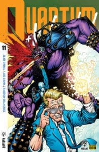 Quantum & Woody! #11 - Pre-Order Edition Variant by Ryan Lee