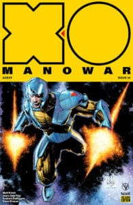 X-O MANOWAR #20 - Pre-Order Edition Variant by Whilce Portacio