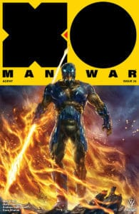X-O MANOWAR #20 - Cover B by Alan Quah
