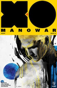 X-O MANOWAR #20 - Cover C by Zu Orzu