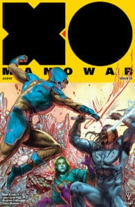 X-O MANOWAR #20 - Interlocking Variant by Renato Guedes