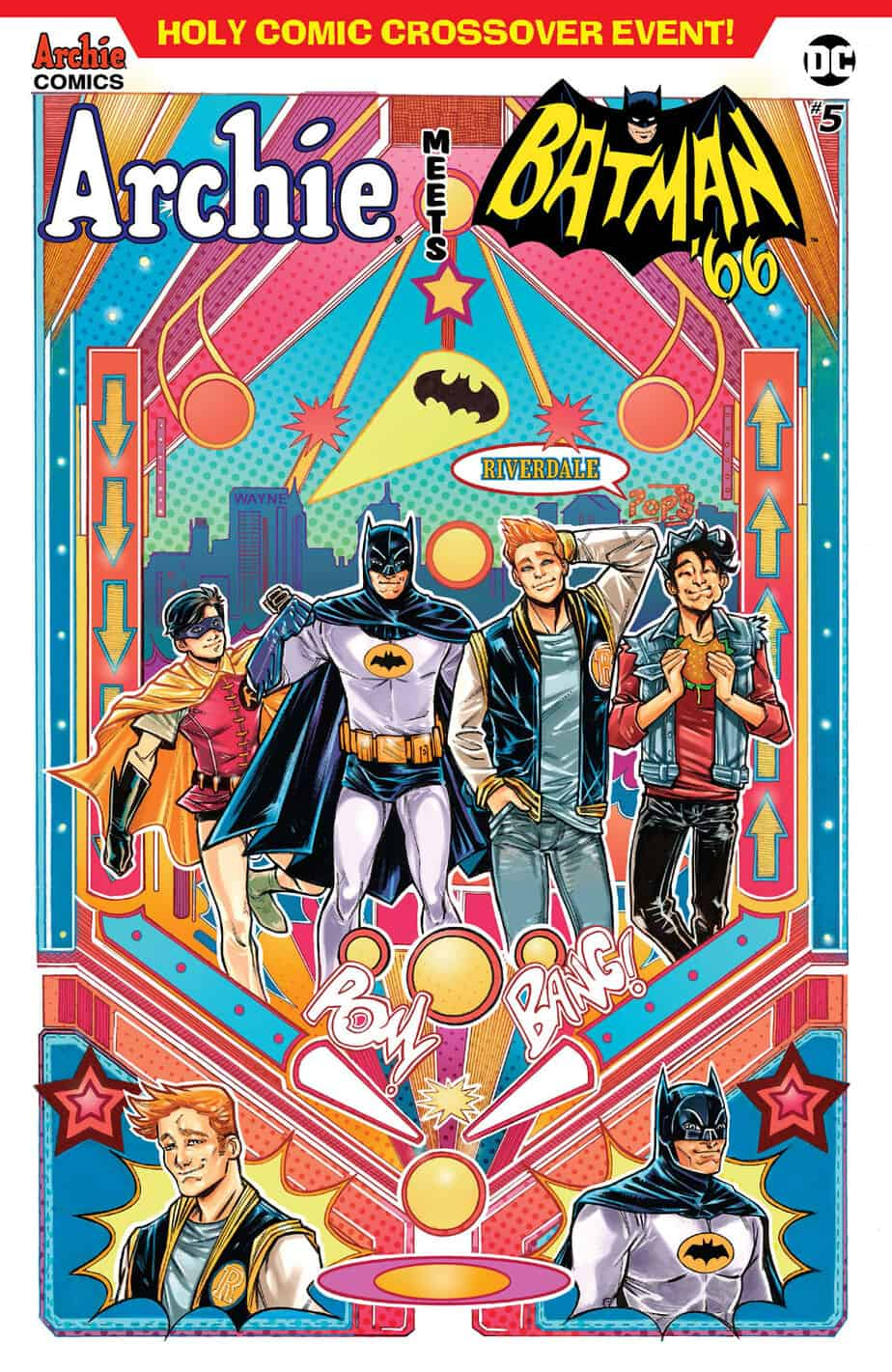 Archie Meets Batman '66 – Variant Cover by Laura Braga