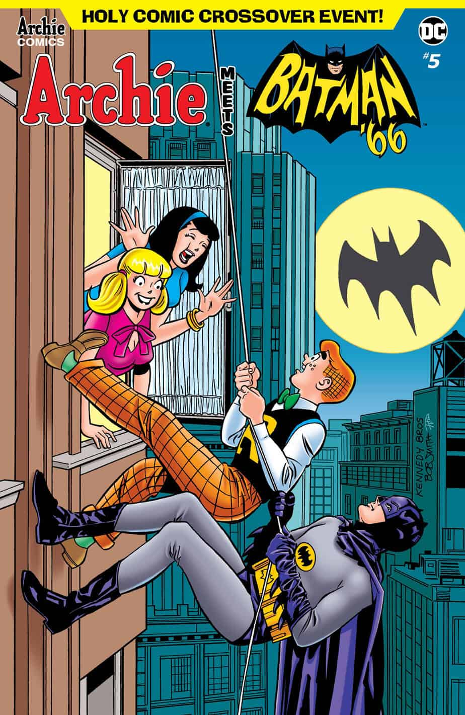 Archie Meets Batman '66 – Variant Cover by Pat & Tim Kennedy