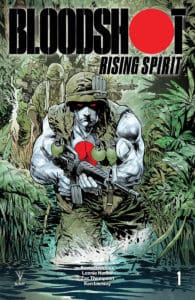 BLOODSHOT RISING SPIRIT #1 - Variant Cover by Staz Johnson