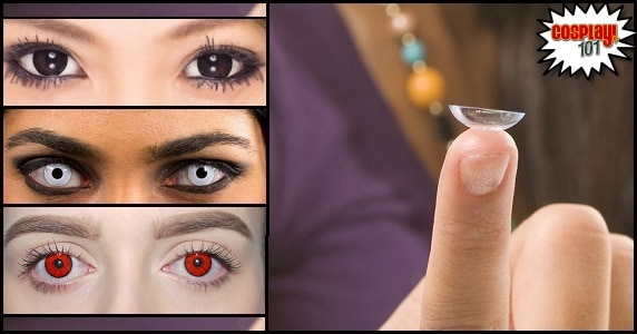 Cosplay 101 – Contact Lenses feature