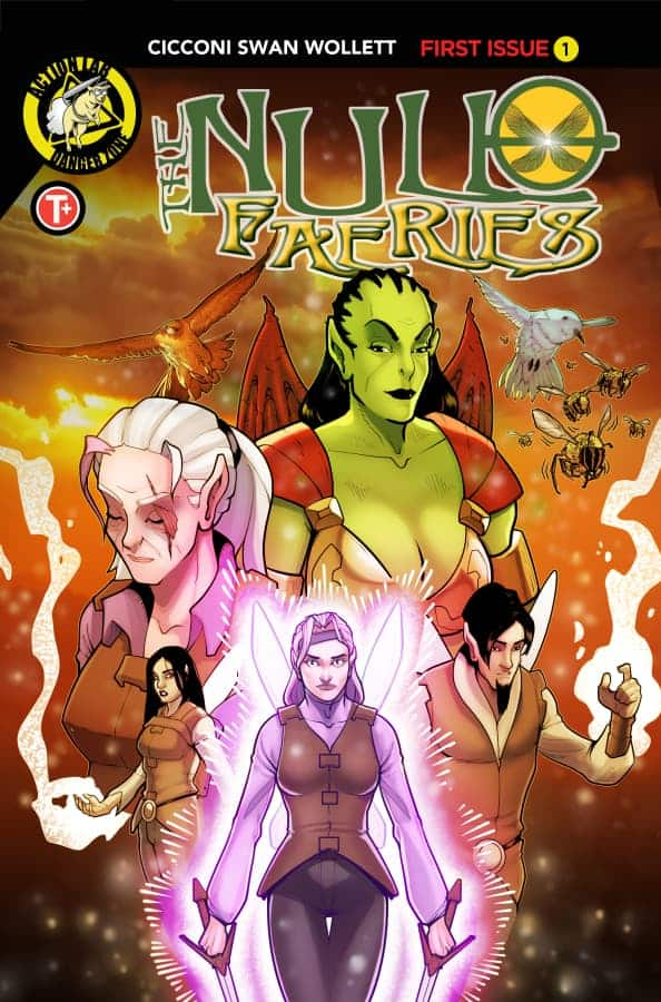 Null Faeries #1 Cover A Cicconi