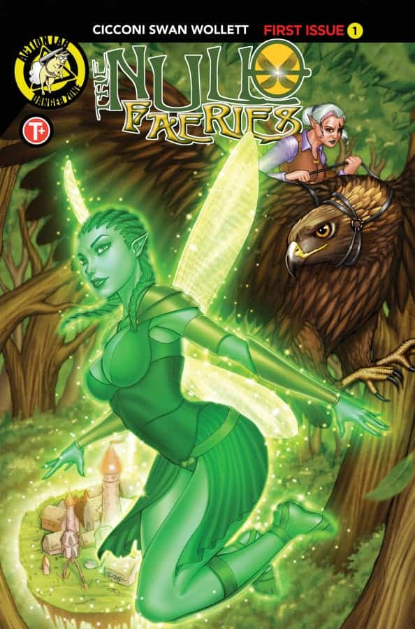 Null Faeries #1 Cover C Suhng
