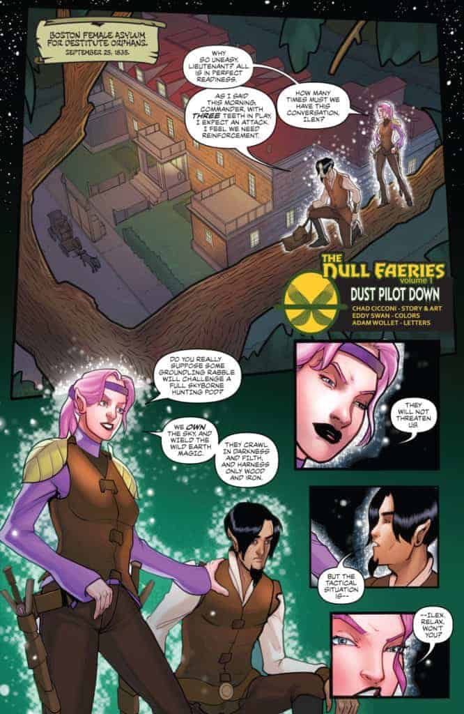 Null Faeries #1 Page 1