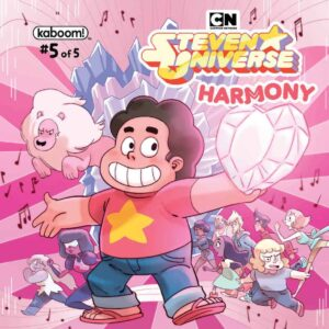 Steven Universe: Harmony #5 - Main Cover by Marguerite Sauvage
