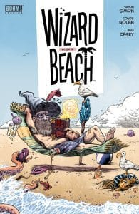 Wizard Beach #1 - Main Cover by Conor Nolan