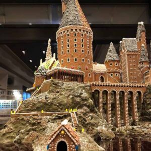gingerbread-hogwarts