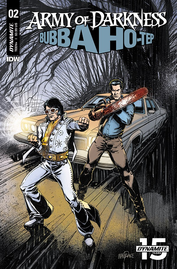 ARMY OF DARKNESS/BUBBA HO-TEP #2 - Cover B