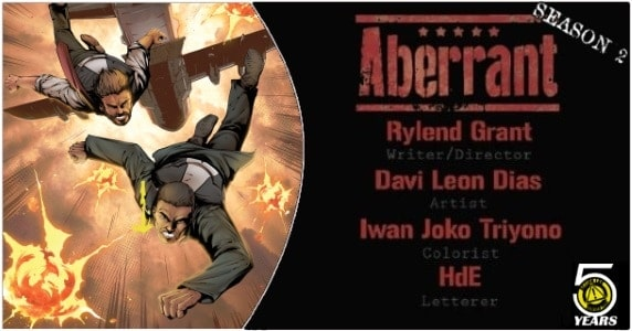 Aberrant Season 2 #1 preview feature