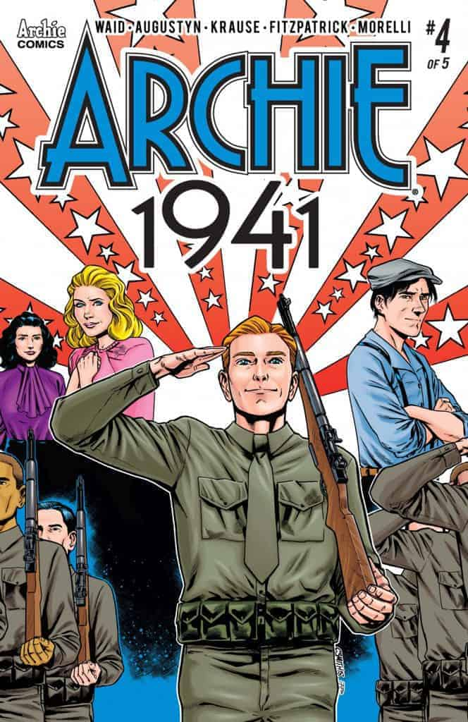Archie 1941 #4 - Variant Cover by Cory Smith