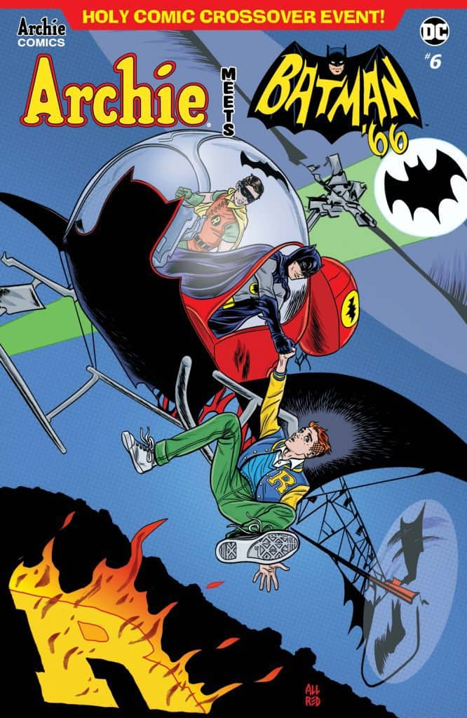 ARCHIE MEETS BATMAN '66 #6 Main Cover