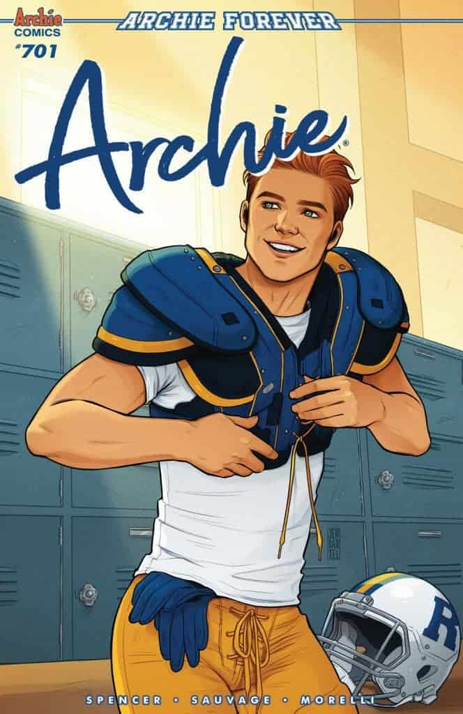Archie #701 - Variant Cover by Jen Bartel