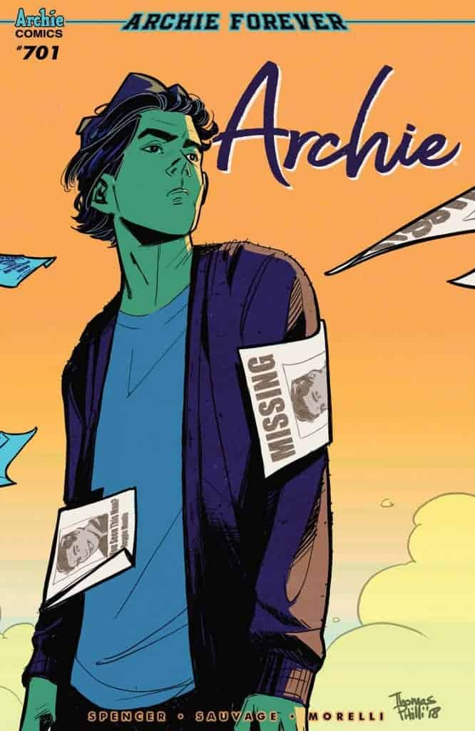 Archie #701 - Variant Cover by Thomas Pitilli