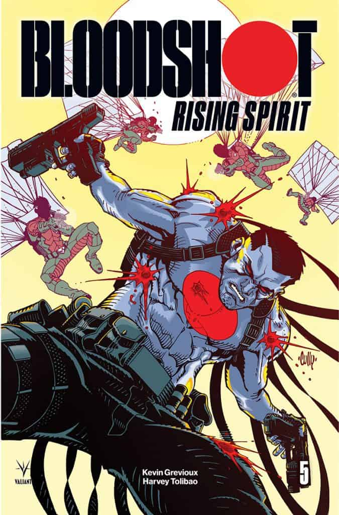 Bloodshot Rising Spirit #5 - Cover B