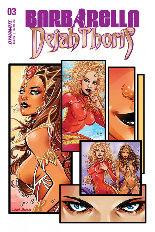 BARBARELLA/DEJAH THORIS #3 - Cover A