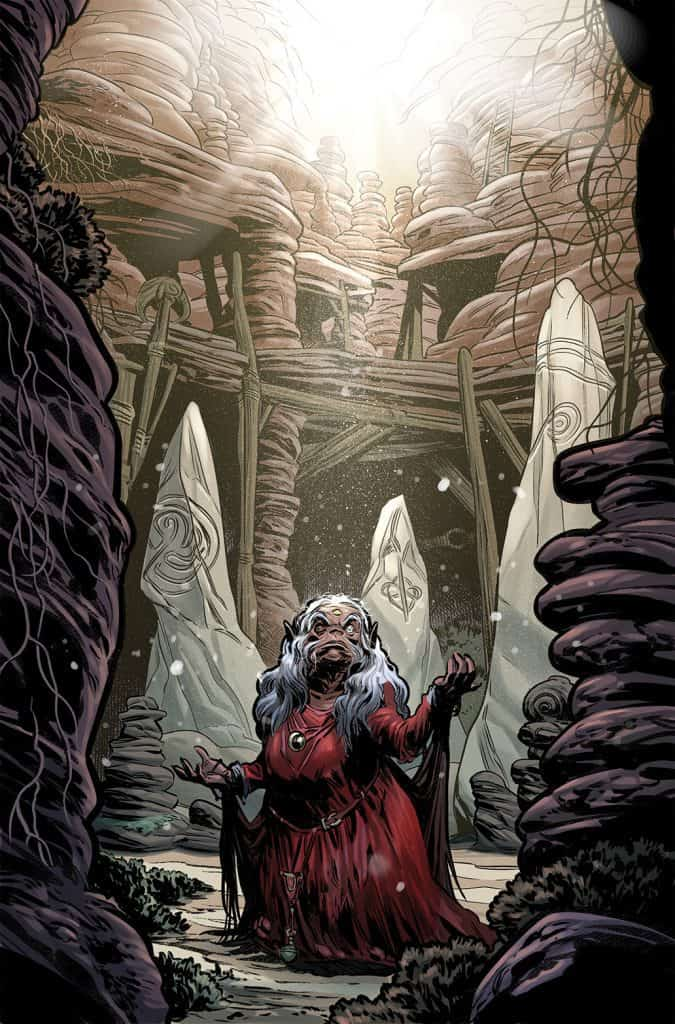 JIM HENSON'S BENEATH THE DARK CRYSTAL #8 - Main Cover