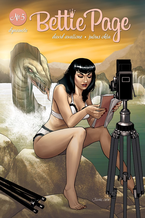 BETTIE PAGE #5 – Cover D