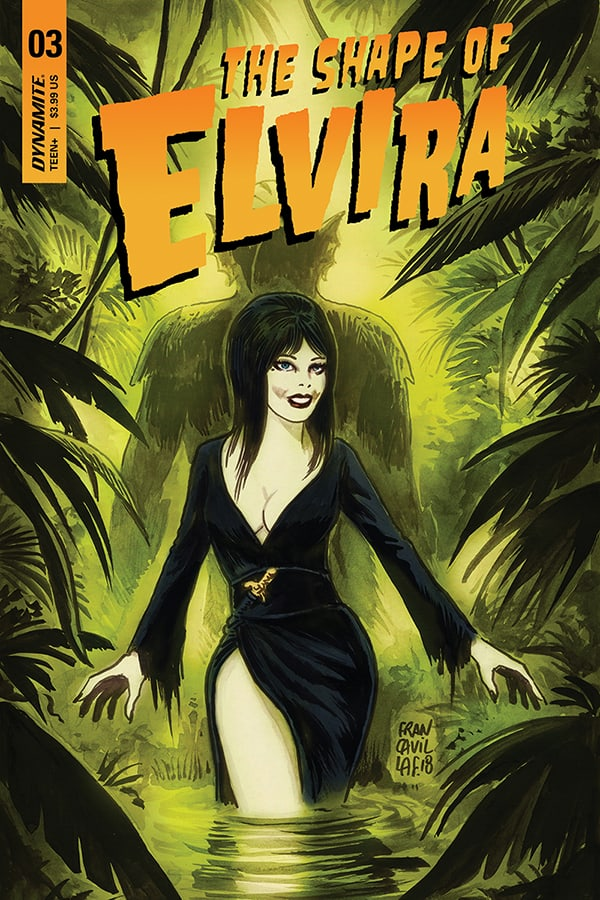 ELVIRA: THE SHAPE OF ELVIRA #3 (of 4) - Cover A