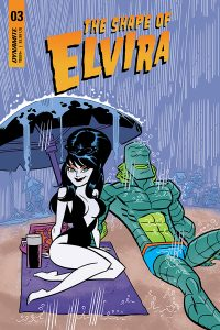 ELVIRA: THE SHAPE OF ELVIRA #3 (of 4) - Cover B