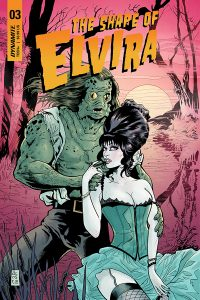 ELVIRA: THE SHAPE OF ELVIRA #3 (of 4) - Cover C