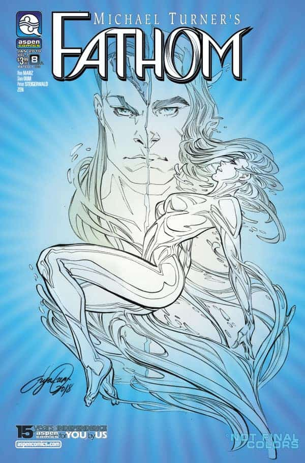 Fathom (Vol. 7) #8 - Cover A by Siya Oum