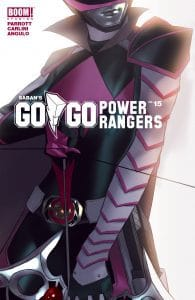Saban's Go Go Power Rangers #15 Intermix Cover