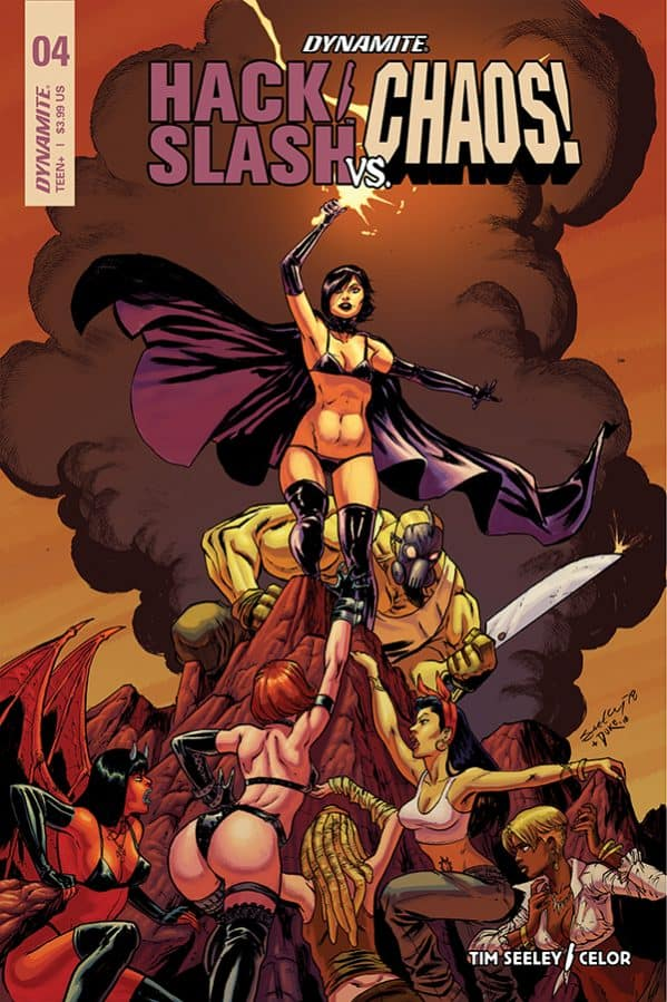 HACK/SLASH VS. CHAOS #4 - Cover A