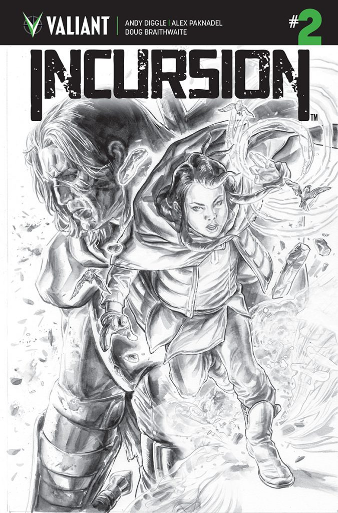 Incursion #2 - Cover C