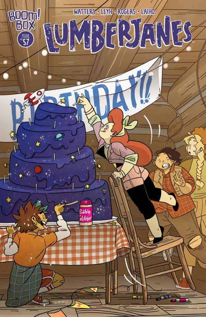 Lumberjanes #57 Main Cover