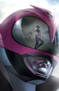 Mighty Morphin Power Rangers #31 Unlocked Retailer Variant Cover